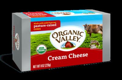 Cream Cheese   Organic Valley   8oz