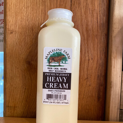 Heavy Cream | Pint | Mapleline Dairy