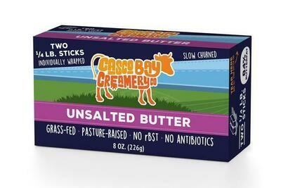 Unsalted Butter | Casco Bay