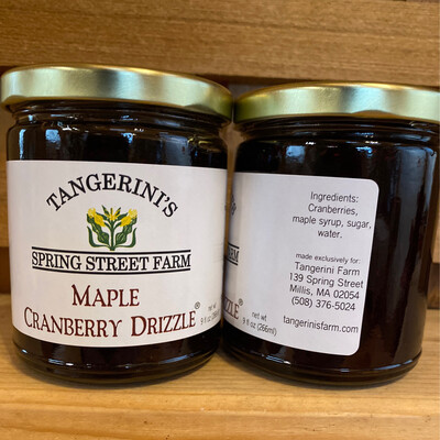 Maple Cranberry Drizzle | Tangerini's Own