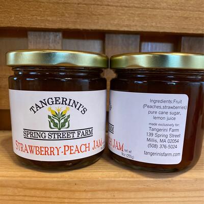 Strawberry Peach Jam | Tangerini's Own