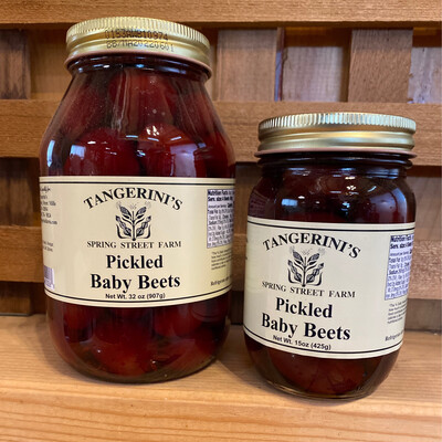 Pickled Baby Beets | Tangerini's Own
