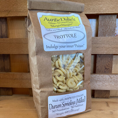 Trottole   Aunt Dalie's Pasta