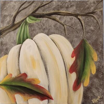 Pumpkin Painting Class - October 18th, 2021