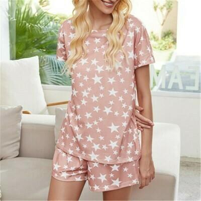 Pijama Rosa Diseño de Estrellas