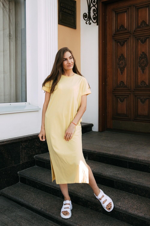 Платье-футболка. Размер 42-44