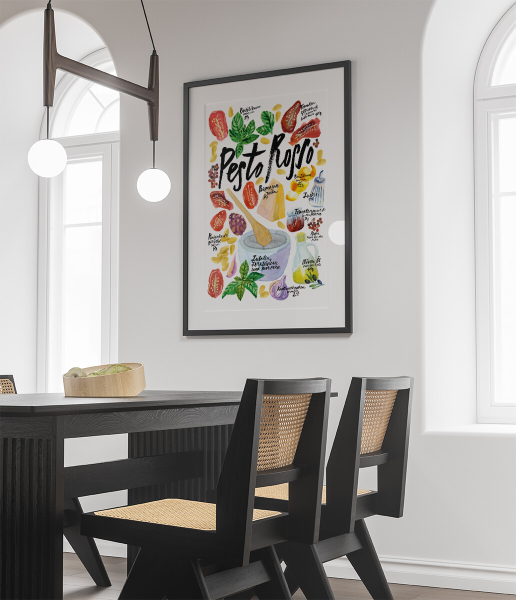 Küchen-Motive-Rezepte-Pesto Rosso