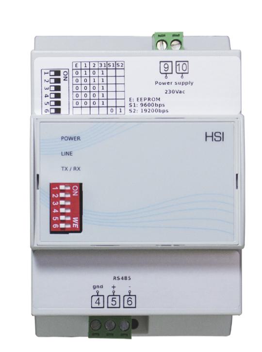 HSI - Gateway per lettura dei contatori e-distribuzione