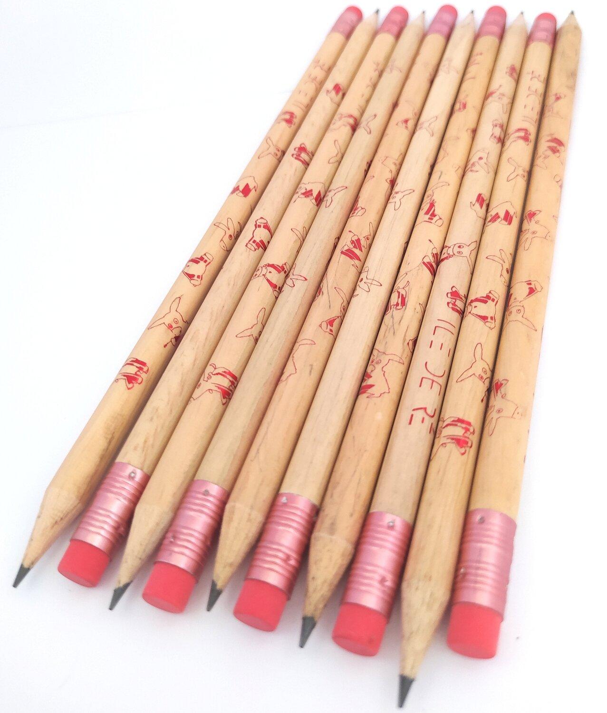 Crayon Ane Brillant Rouge