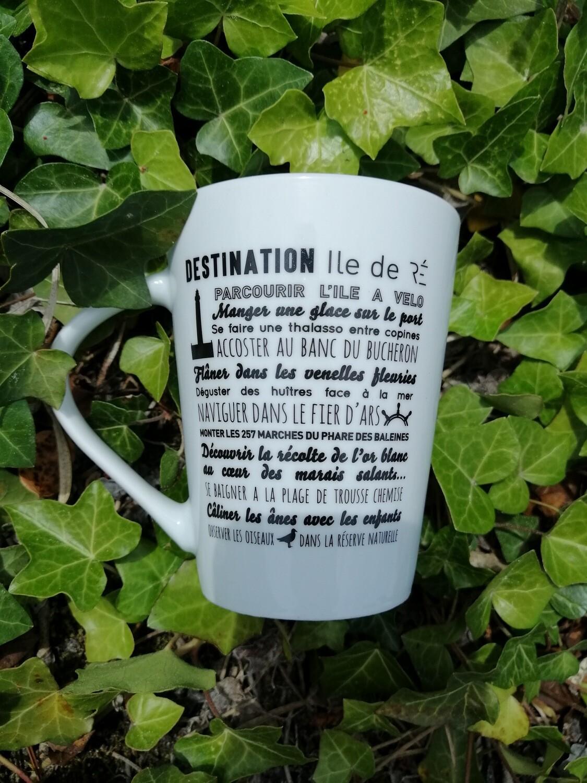 Mug souvenir Destination Île de Ré