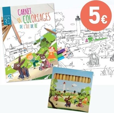 Kit coloriage - Offre web  au lieu de 6€40