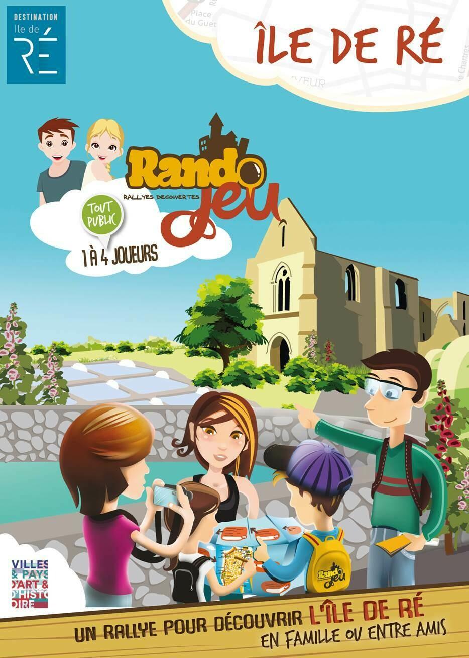 Randojeu 10 villages - Ile de Ré  pour 1 acheté, le 2ème offert