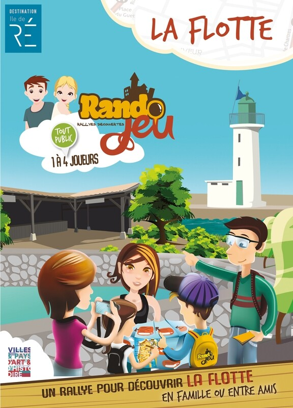 Randojeu 1 village - La Flotte en Ré pour 1 acheté, le 2ème offert