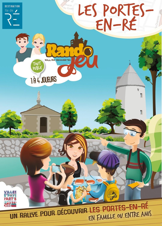 Randojeu 1 village - Les Portes en Ré pour 1 acheté, le 2ème offert