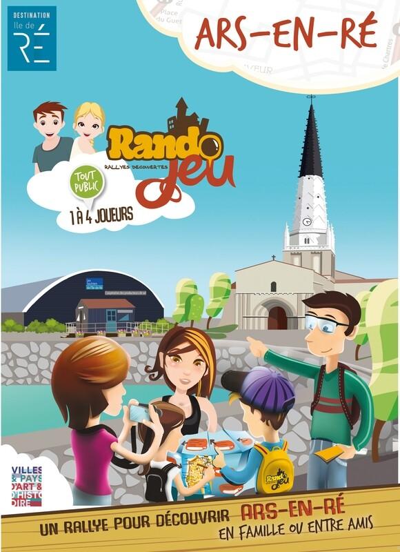 Randojeu 1 village - Ars en Ré pour 1 acheté, le 2ème offert