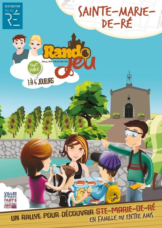 Randojeu 1 village - Sainte Marie de Ré pour 1 acheté, le 2ème offert