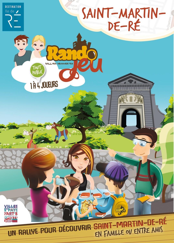 Randojeu 1 village - Saint Martin de Ré pour 1 acheté, le 2ème offert