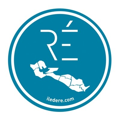 Stickers Ile de Ré Bleu