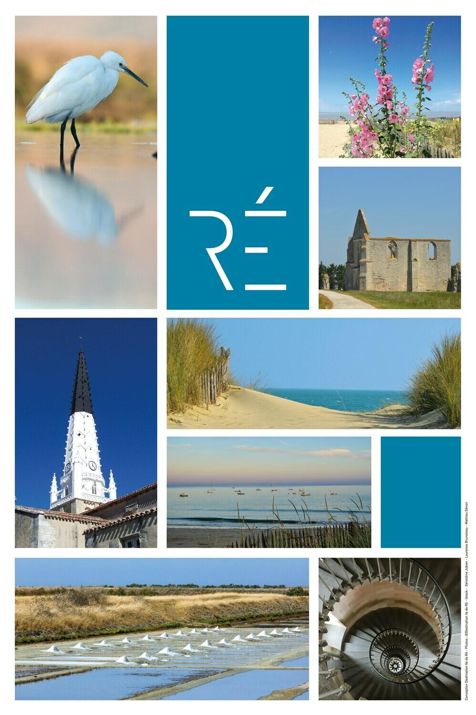 Affiche photos Île de Ré