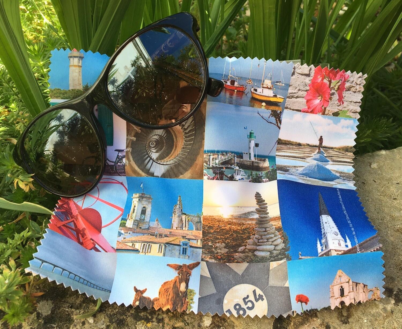 Essuie lunettes paysages de l'Île de Ré