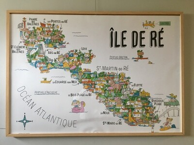 Le coloriage géant de l'Île de Ré