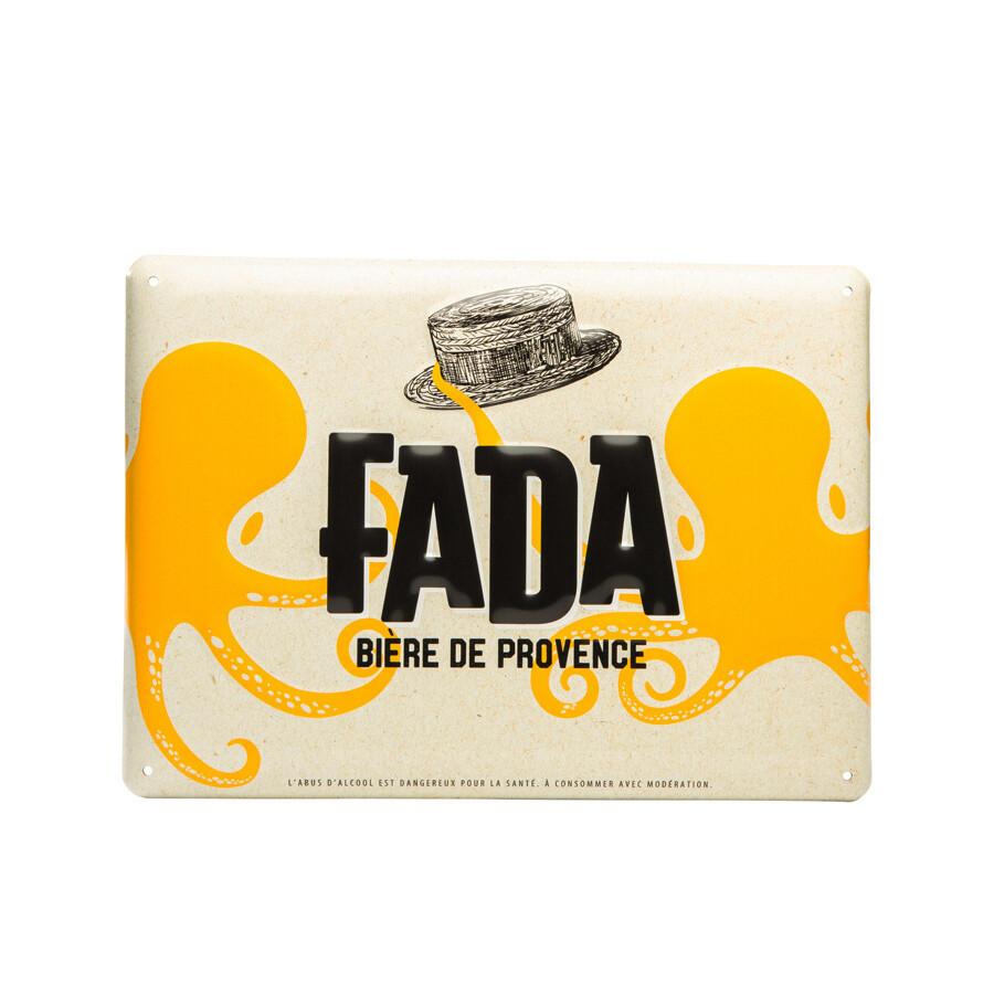 Plaque émaillée FADA