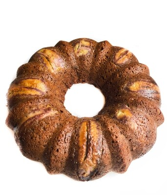 Healthy Chocolate Banana Cake