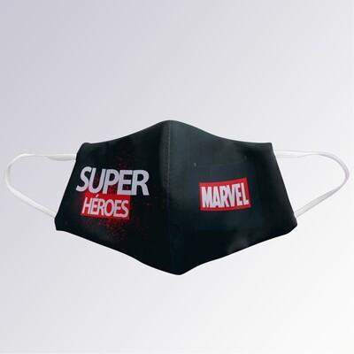 Mascarilla Superhéroes Marvel