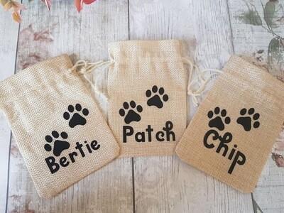 Personalised Pet Treat Bags