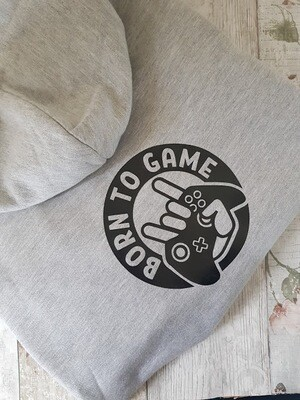Personalised Kids Gamer Zip Up Hoodie
