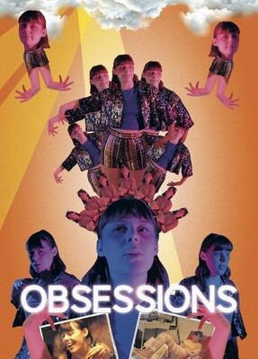Obsessions collage postcards (set of 4)