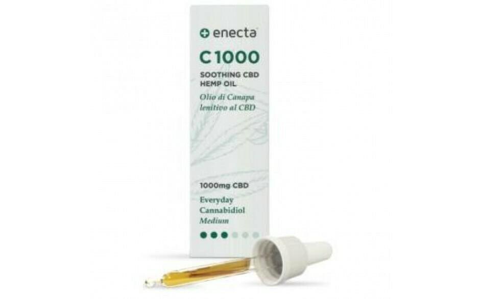 Aceite CBD 10ml Enecta - 10% - 1000mg CBD