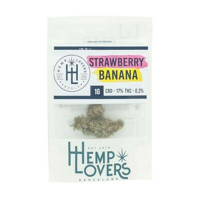 strawberry bannana 1g flor cbd