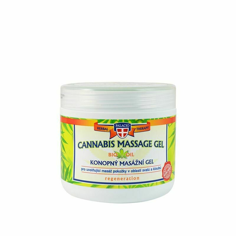 CANNABIS MASSAGE GEL BIO OIL 600 ML