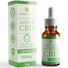Cbd oil 2,5 % 750 mg Cannactiva