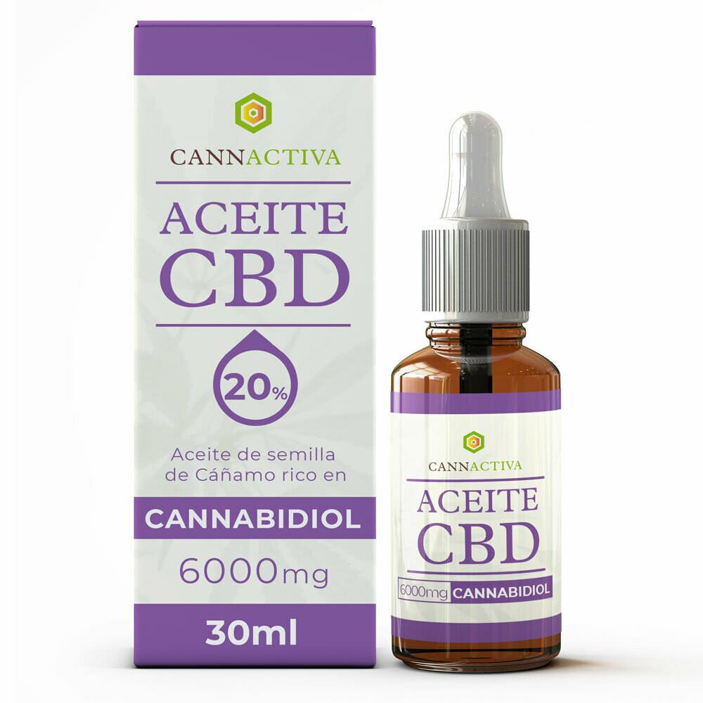 Cbd oil 20% 6000 mg 30ml Cannactiva