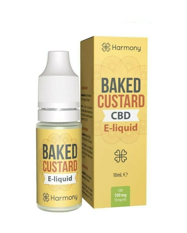 Baked Custard CBD e-Liquid Harmony