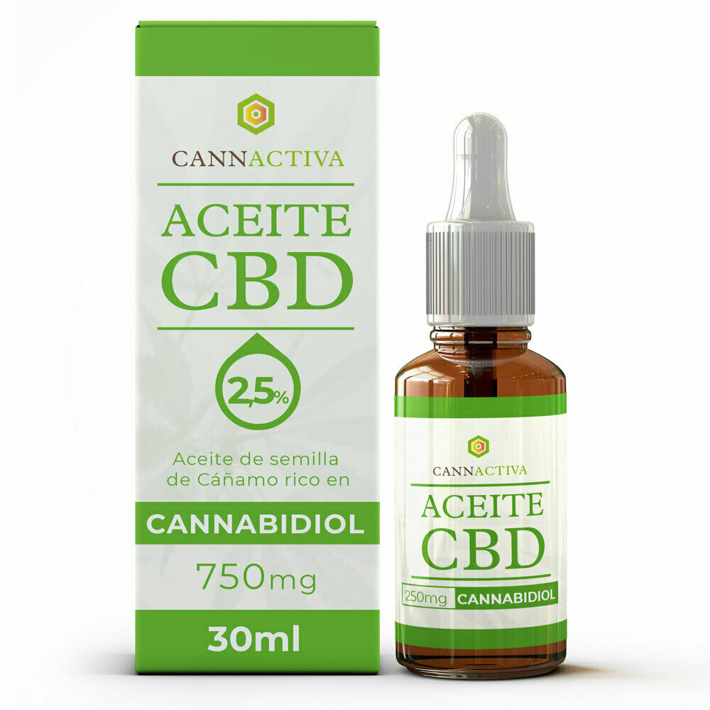 CBD Oil 2,5% 10ml CANNACTIVA