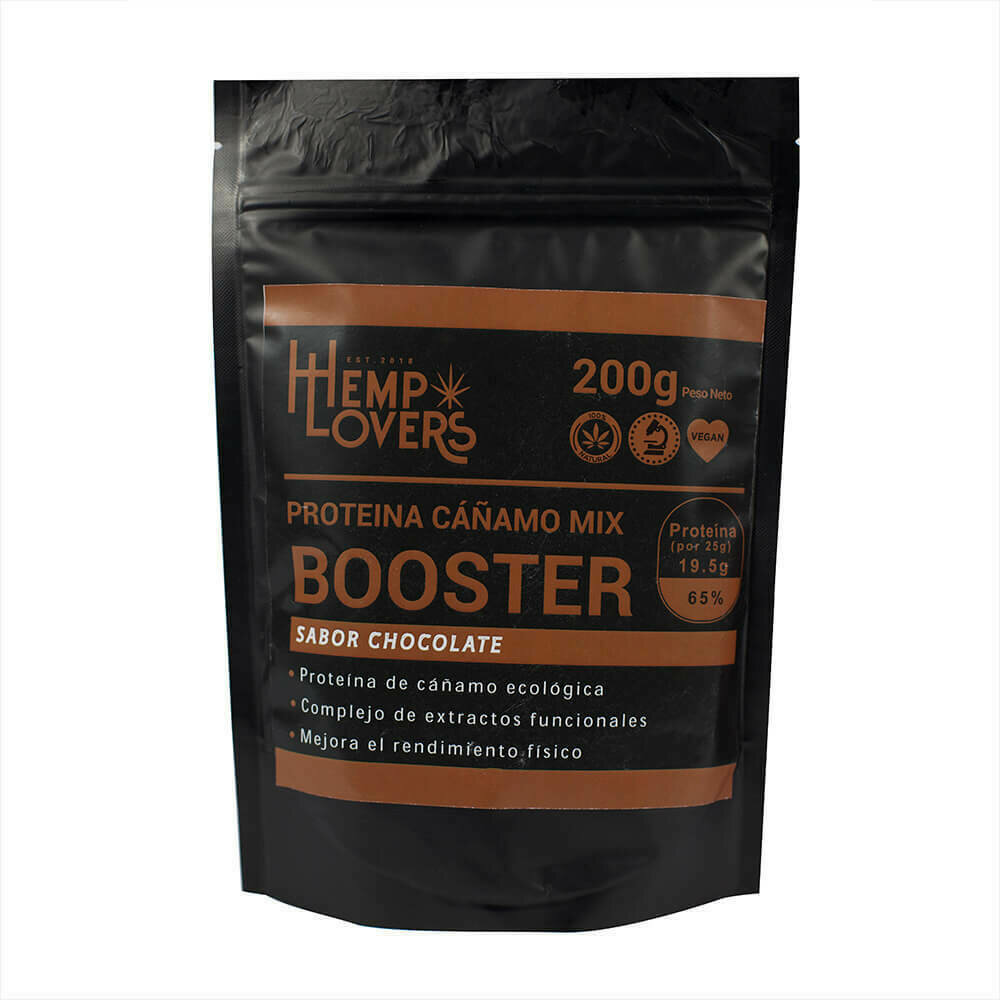 Proteína Cañamo Booster Chocolate