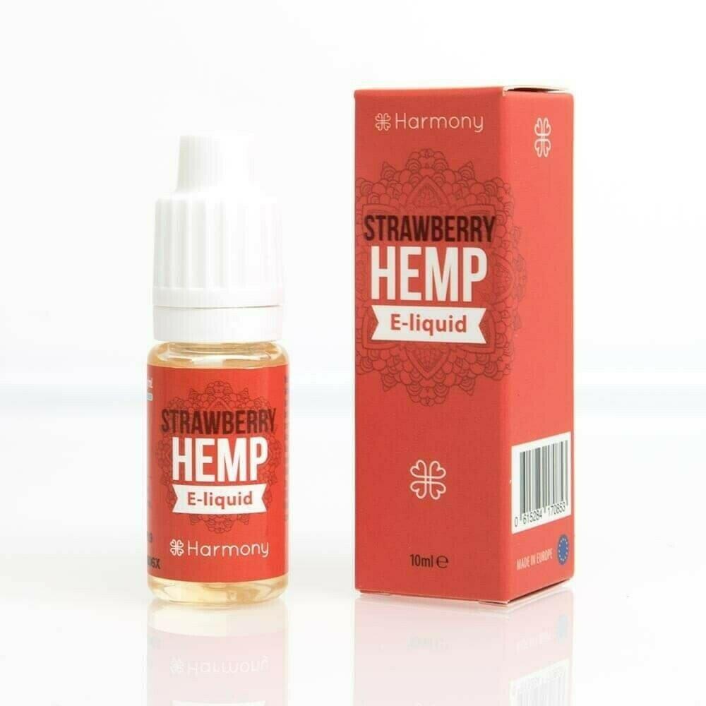 Strawberry Hemp CBD e-Liquid