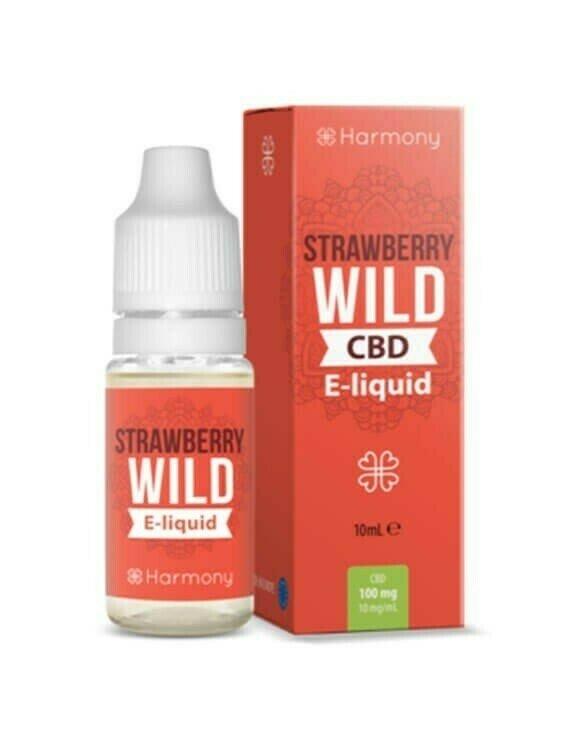 Strawberry Wild CBD e-Liquid