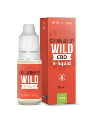 Strawberry Wild CBD e-Liquid