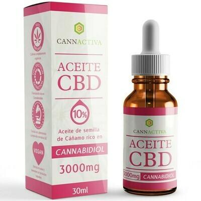 Cbd oil 10% 3000 mg 30 ml Cannactiva