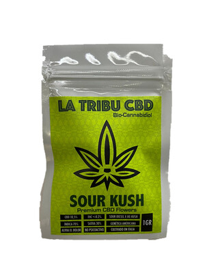 Flor HighBranch - Sour Kush - La Tribu CBD