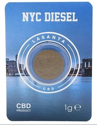 NYC Diesel 1g hash cbd