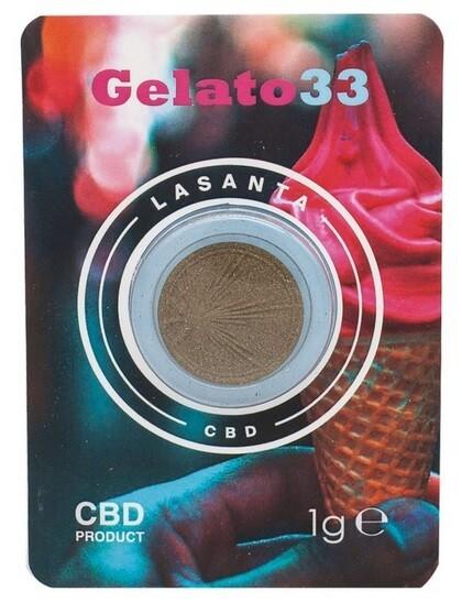 Gelato 33 1g hash cbd