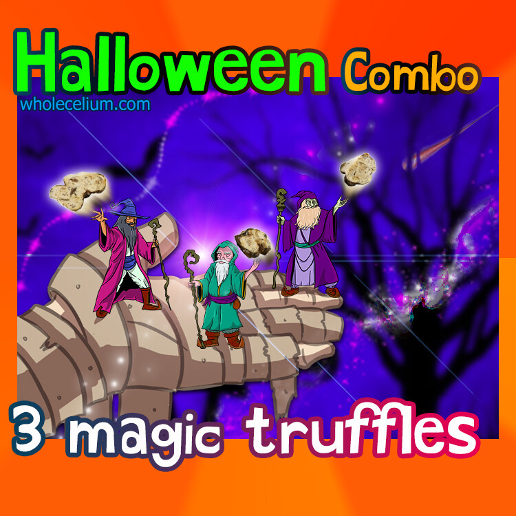 HALLOWEEN דרואידים - COMBO-Pack (3x)