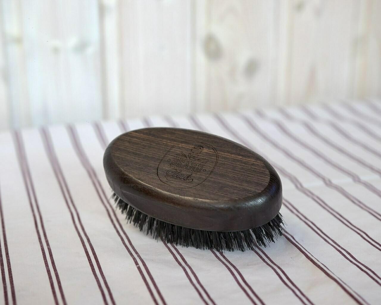 Щётка для бороды и волос головы большая Beard Club