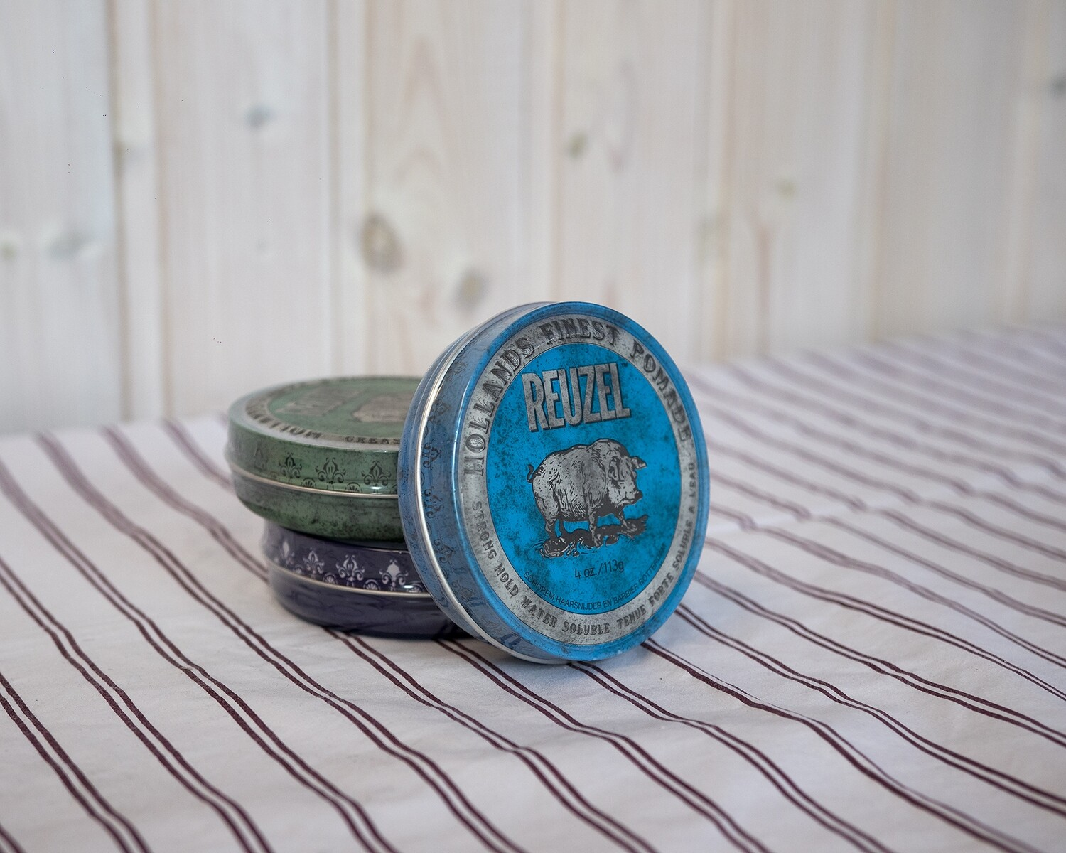 Reuzel Water Soluble High Sheen Pomade (blue) 113g