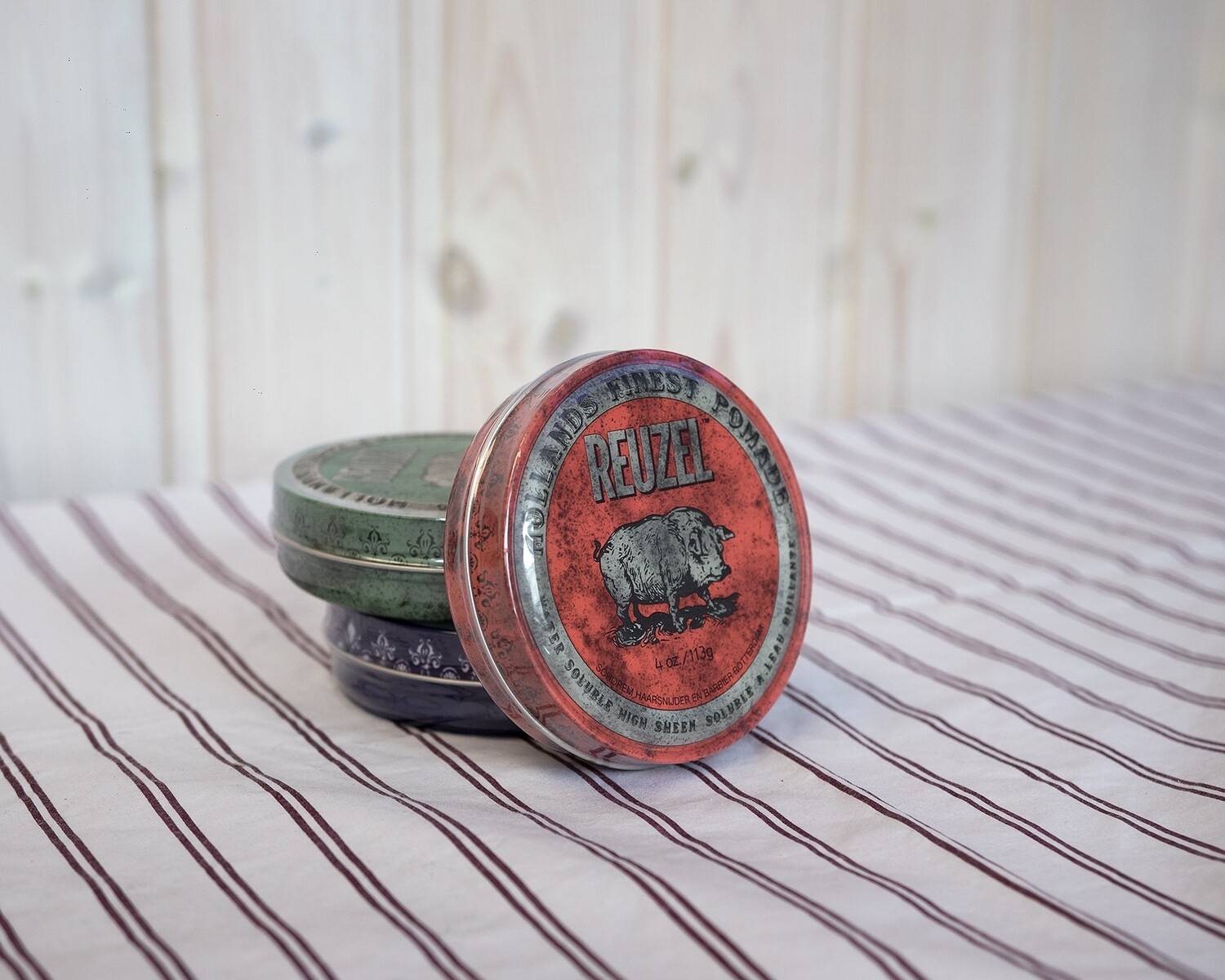 Reuzel Water Soluble High Sheen Pomade (red) 113g
